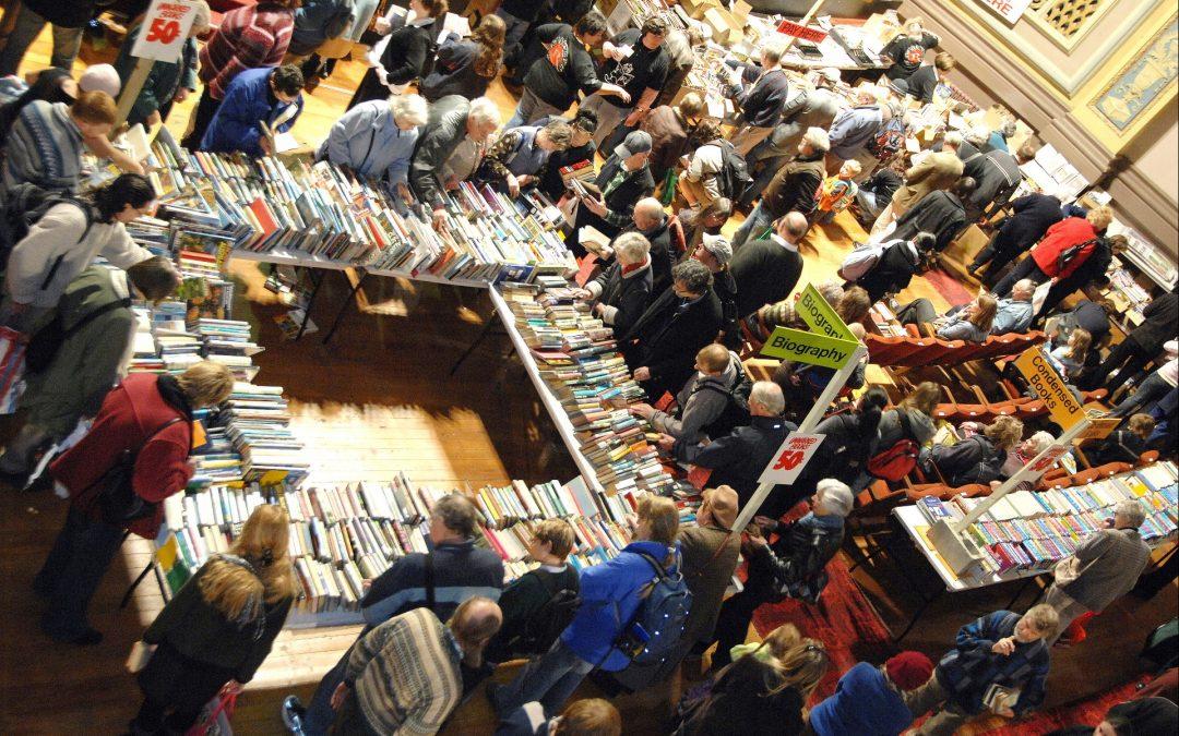 Book sale raises $85,000 for theatre