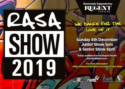 RASA Show 2019 – 8 December