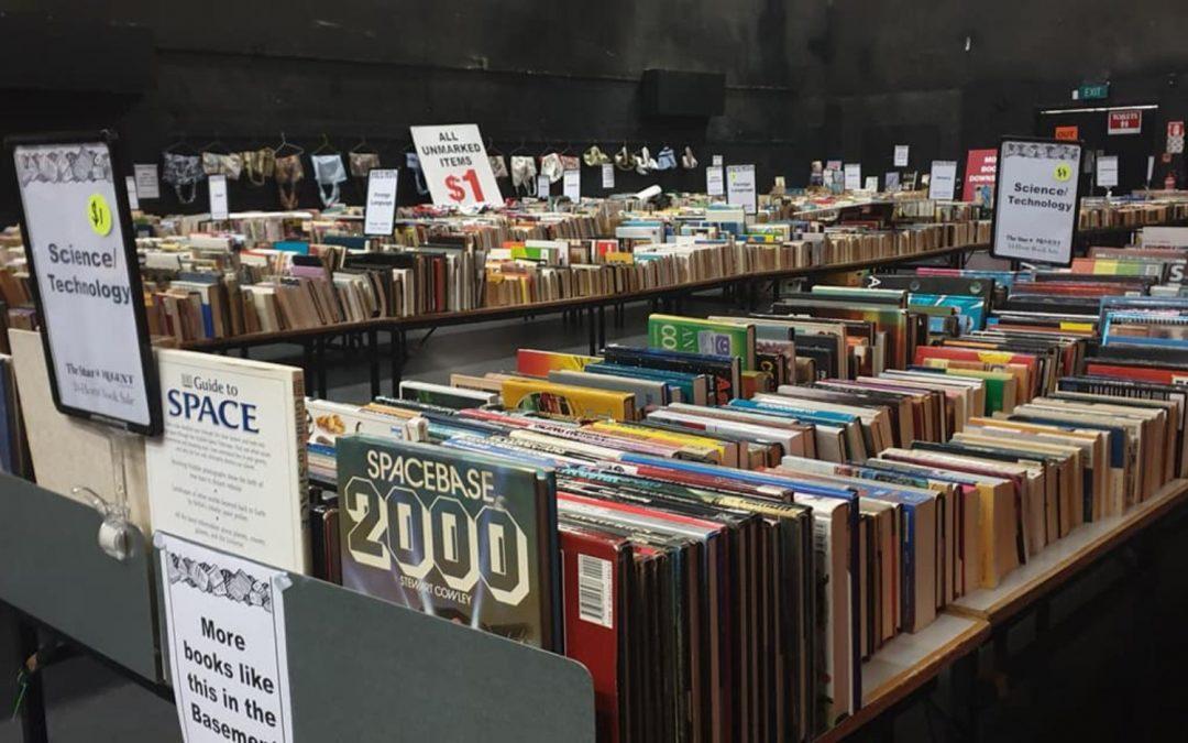 Book Sale – 3 & 4 December 2021 – MORE FM ARENA AT THE EDGAR CENTRE