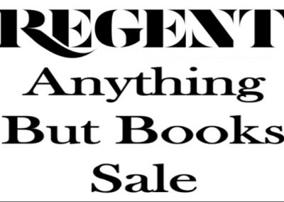 Anything But Books Sale – 17 April