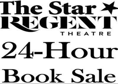 The Star Regent 24 Hour Book Sale – 12 & 13 June