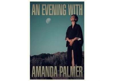 An Evening with Amanda Palmer – 26 September