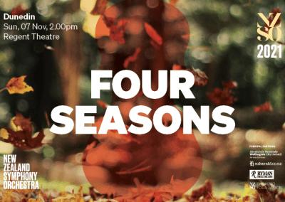 New Zealand Symphony Orchestra – Four Seasons – 7 November 2021