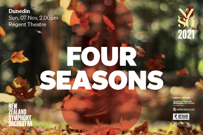 New Zealand Symphony Orchestra – Four Seasons – CANCELLED
