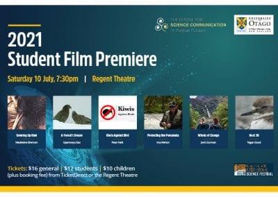 Science Communication Student Film Premiere