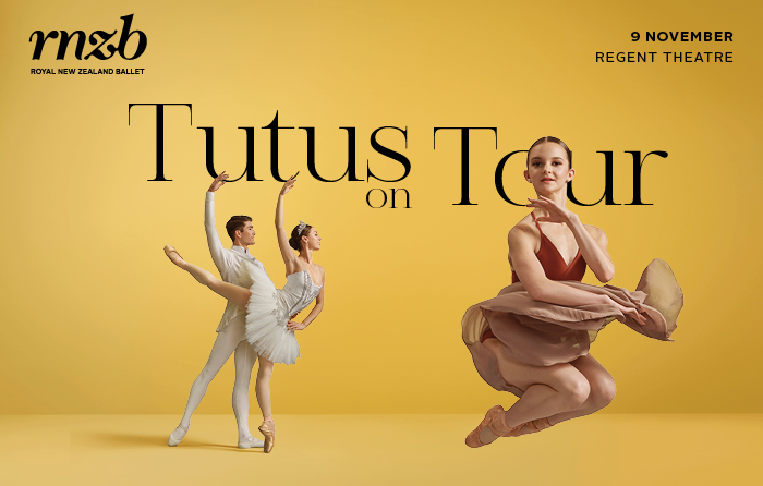 RNZB – Tutus on Tour – Wednesday 9 November 2022